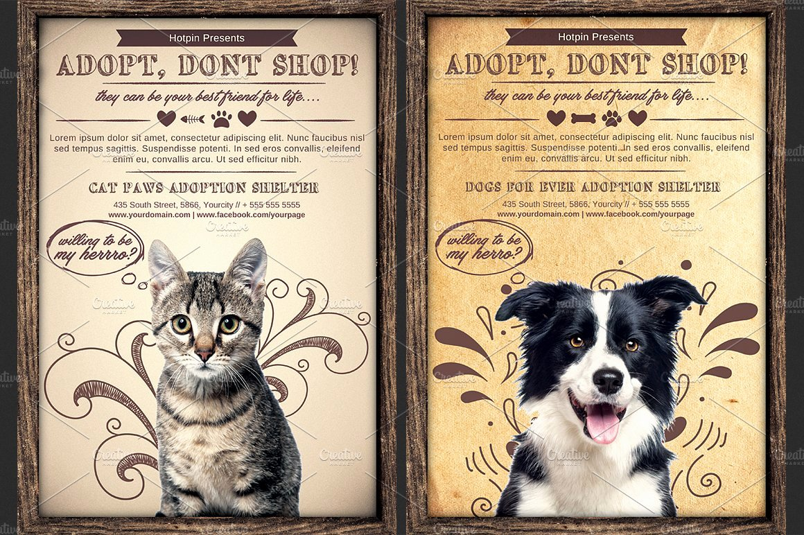 Pet Adoption Flyer Template Awesome Pet Adoption Flyer Template Flyer Templates Creative