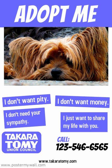 Pet Adoption Flyer Template Beautiful Adopt A Pet Flyer Template