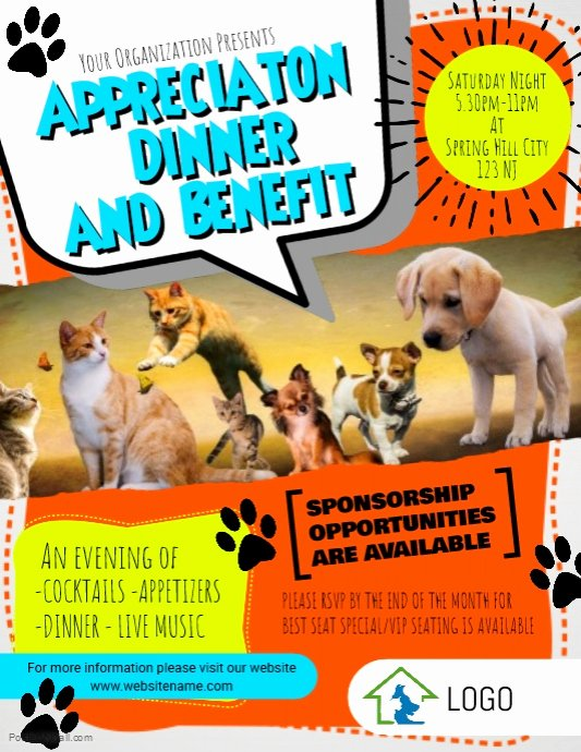 Pet Adoption Flyer Template Best Of Animal Rescue Flyer Template