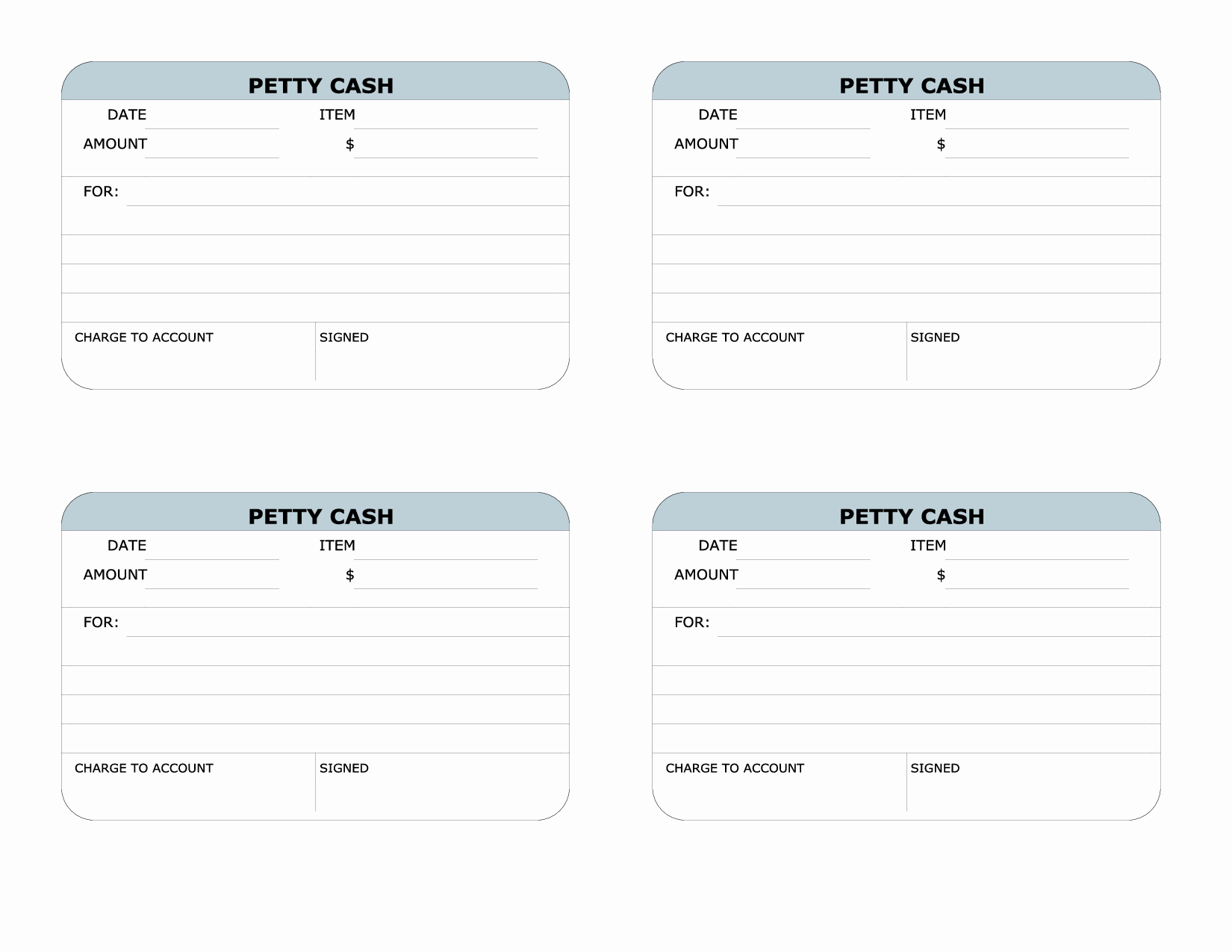 Petty Cash Receipt Template Awesome Receipt Cash Printable Blank Invoice Example Of Release Of