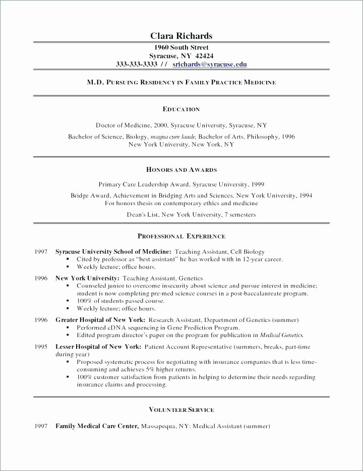 Pharmacy Curriculum Vitae Template Awesome Physician Resume Sample From Curriculum Vitae format