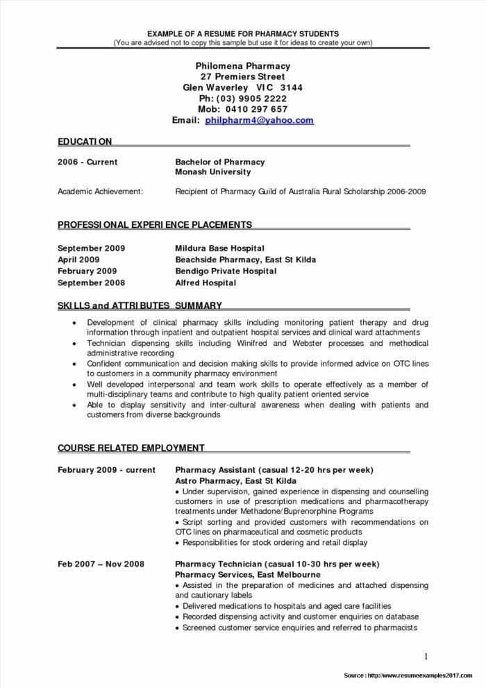 Pharmacy Curriculum Vitae Template Inspirational Locum Pharmacist Contract Template Templates Resume