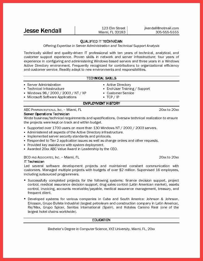 Pharmacy Technician Resume Template Lovely Pharmacy Technician Resume