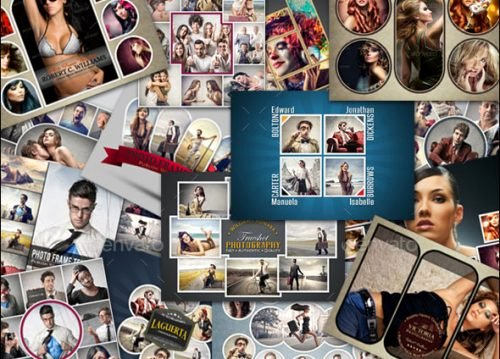 Photo Collage Template Photoshop Beautiful 25 Killer Psd Collage Templates