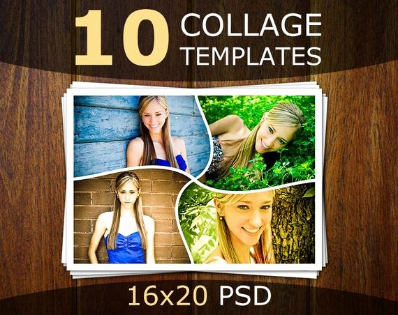 Photo Collage Template Photoshop Beautiful Shop Collage Templates Collage Templates