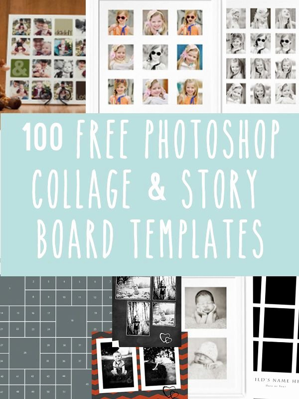 Photo Collage Template Photoshop Best Of 77 Best Shop Story Boards & Templates Images On