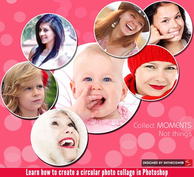Photo Collage Template Photoshop Best Of Learn How to Create A Circular Photo Collage In Shop