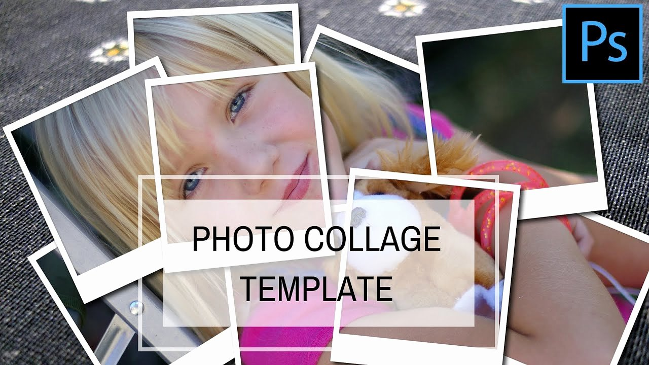 Photo Collage Template Photoshop Fresh Shop Collage Template