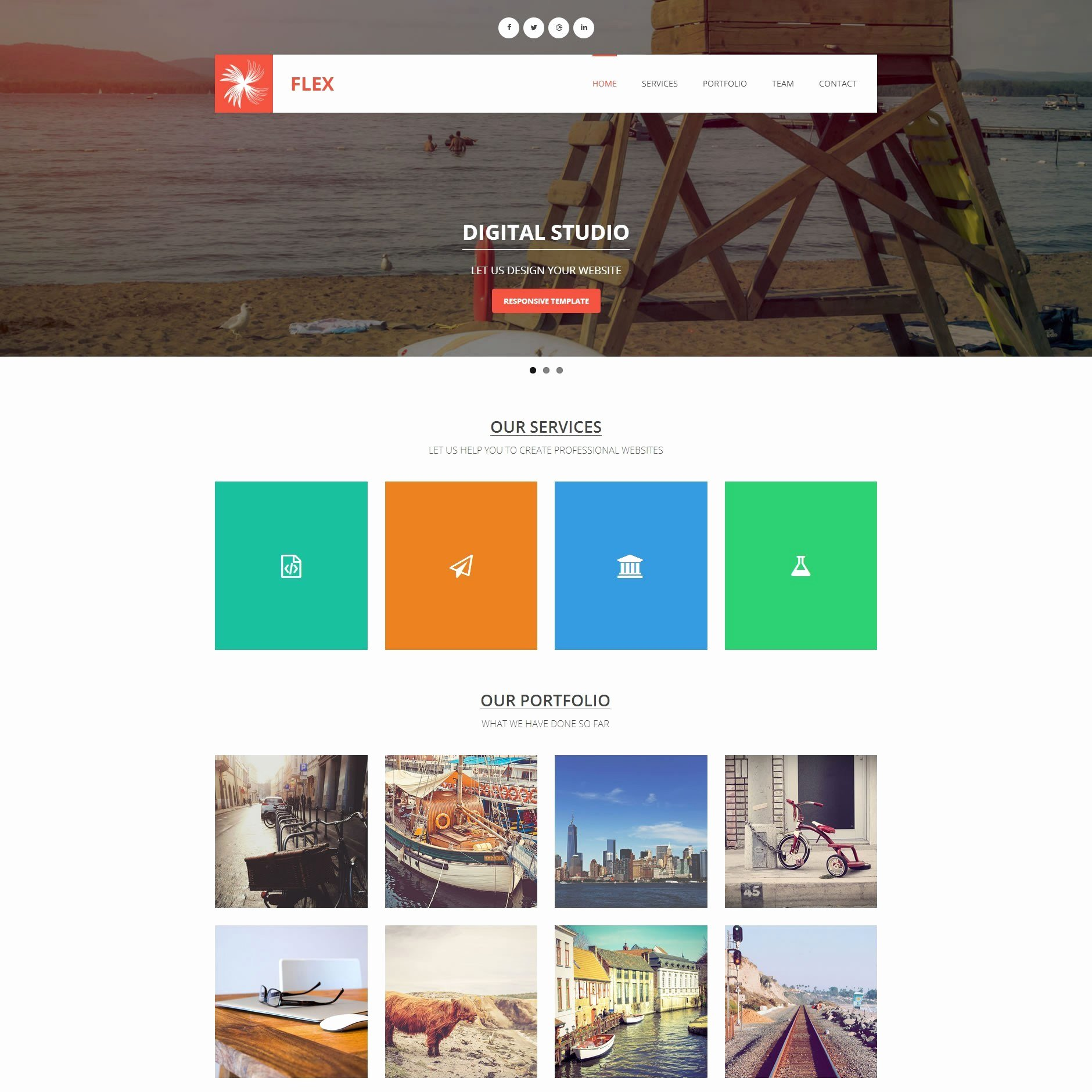 Photo Gallery Website Template Awesome 250 Free Responsive HTML5 Css3 Website Templates