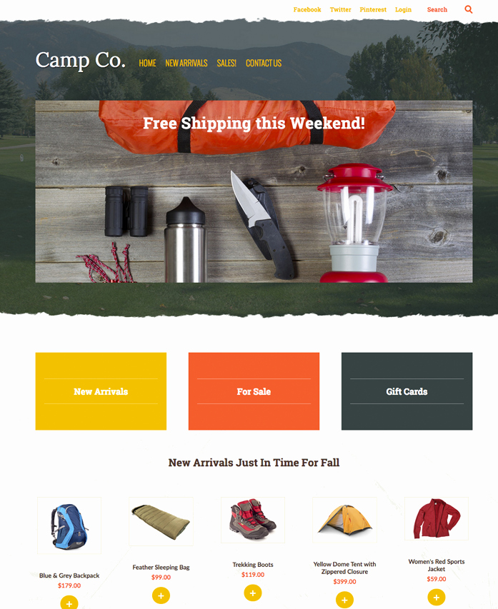 Photo Gallery Website Template Beautiful Website Templates Web Design Portfolio Web Design