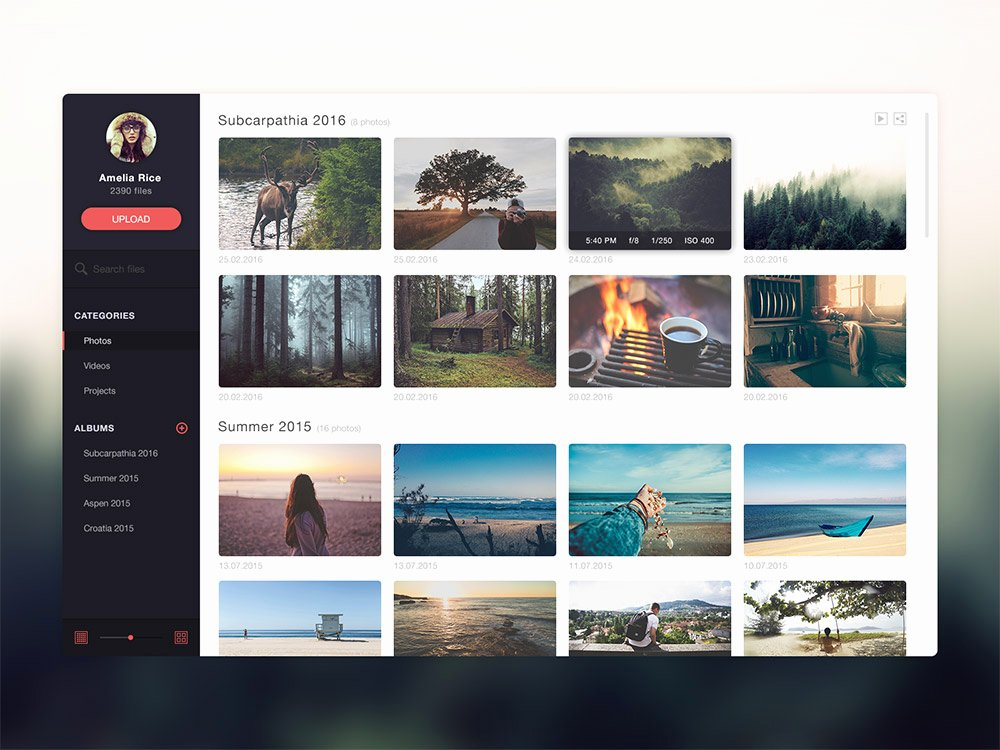 Photo Gallery Website Template Best Of Gallery Website Application Template Free Psd