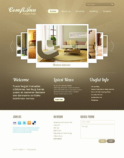 Photo Gallery Website Template Inspirational 100 Creative Examples Of Sliders & Galleries In Web Design