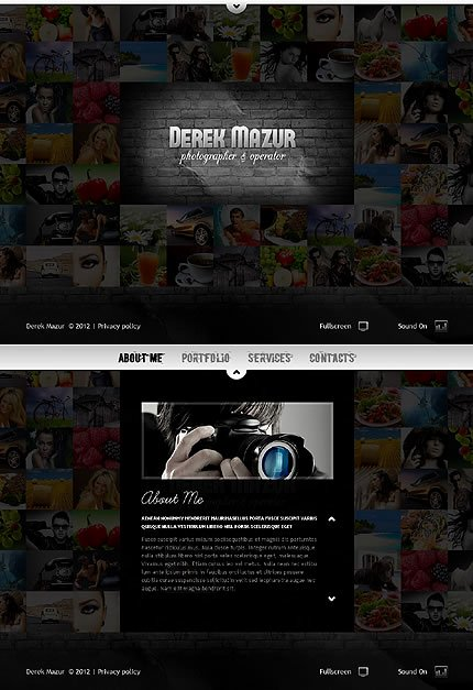 Photo Gallery Website Template Lovely Best Flash Gallery Website Templates