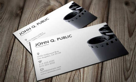 Photographer Business Card Template Awesome 45 Premium Business Card Templates for Professional