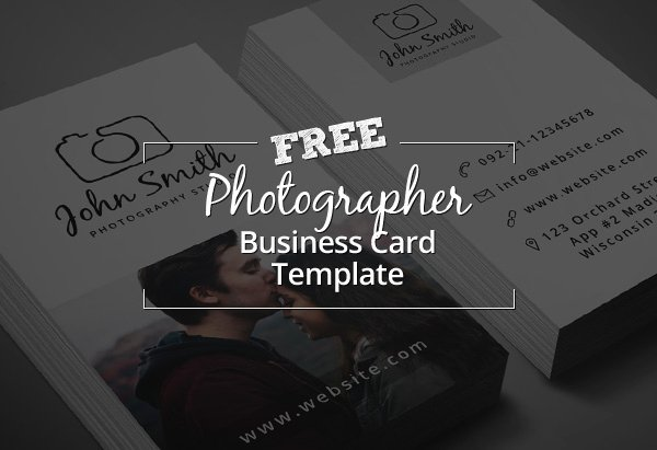 Photographer Business Card Template Awesome Freebie – Minimal Grapher Business Card Psd Template