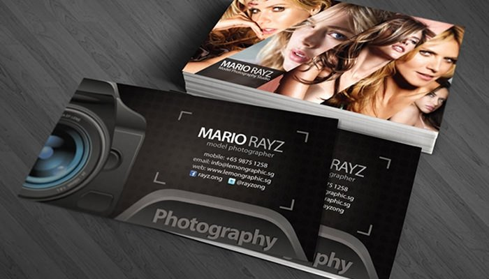 Photographer Business Card Template Lovely 52 Graphy Business Cards Free Download