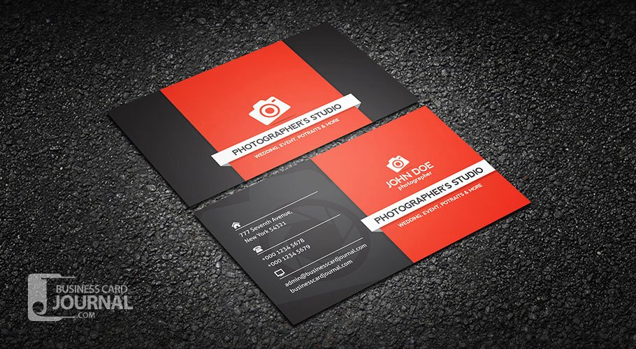 Photographer Business Card Template New Free Graphy Business Card Templates Business Card