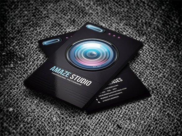 Photographer Business Card Template New Visiting Card Template 19 Free Sample Example format