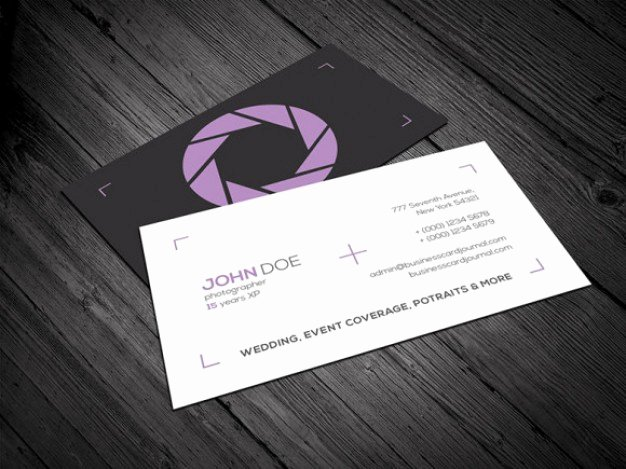 Photography Business Card Template Best Of Graphy Business Card Template Psd File