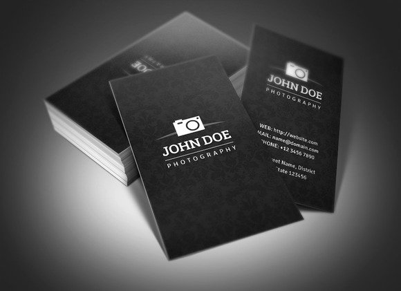 Photography Business Card Template Fresh Graphy Business Card Business Card Templates On