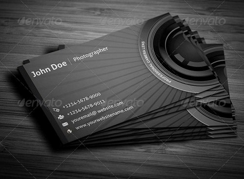 Photography Business Card Template Inspirational 17 Best Graphy Business Card Templates
