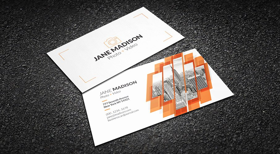 Photography Business Card Template Luxury Free Cool Abstract Grapher Business Card Template