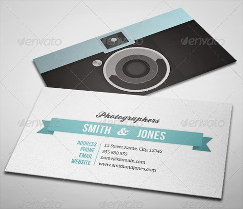 Photography Business Card Template New 15 Creative Graphy Business Card Templates