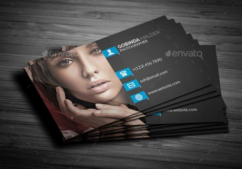 Photography Business Card Template New A List Of Exceptional Graphy Business Card Templates
