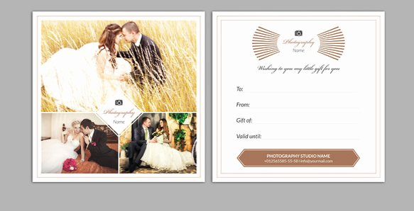 Photography Gift Certificate Template Awesome 12 Graphy Gift Certificate Templates – Free Sample