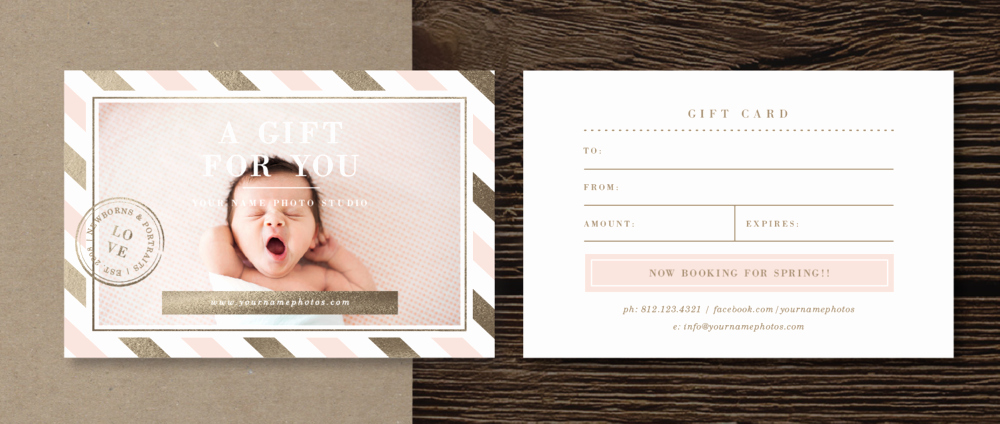 Photography Gift Certificate Template Beautiful Print Release form Template Lily