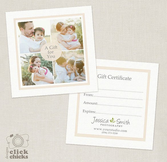 Photography Gift Certificate Template Best Of Graphy Gift Certificate Templates – 17 Free Word