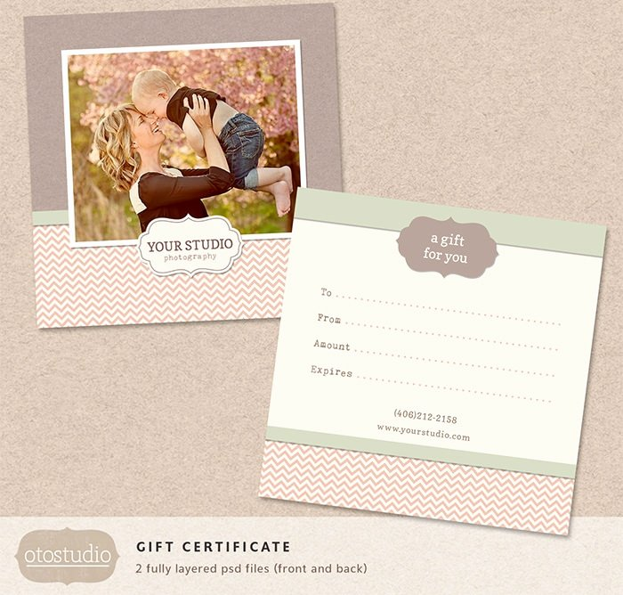 Photography Gift Certificate Template Elegant 83 Psd Certificate Templates