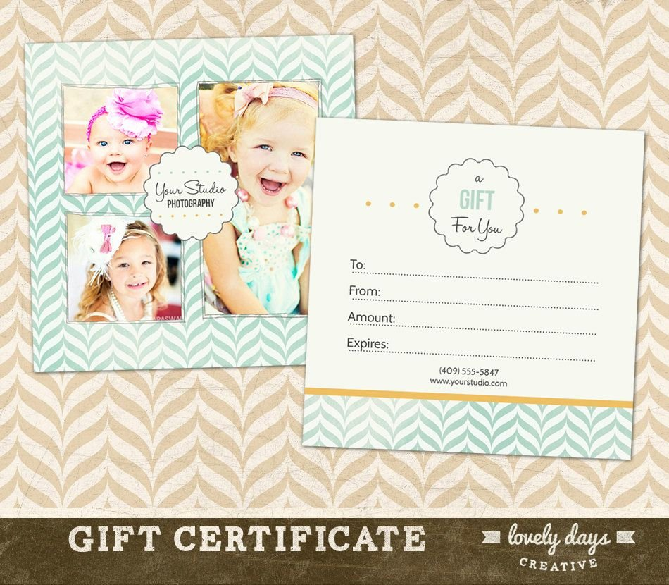 Photography Gift Certificate Template Luxury Graphy Gift Certificate Template for Professional