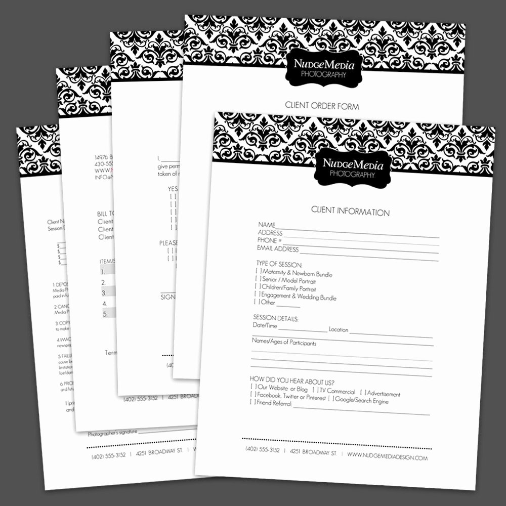 Photography order form Template Beautiful Graphy Business forms 5 Critical by Lauriecosgrovedesign