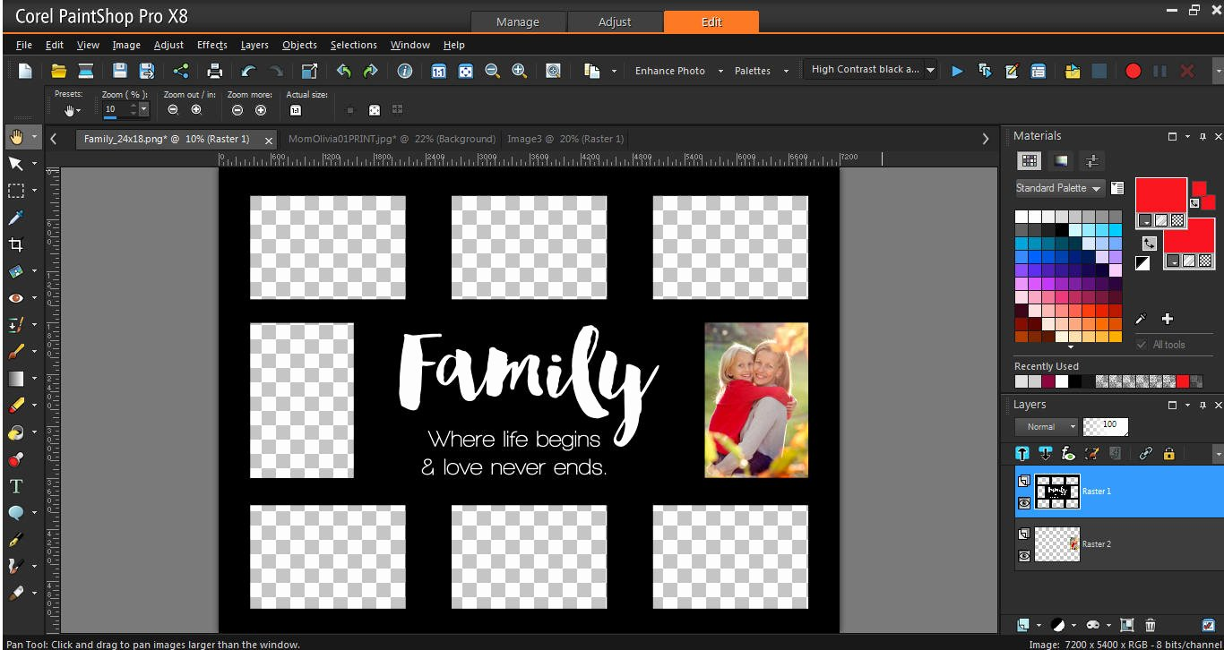 Photography Shot List Template Beautiful How to Use Collage Templates Corel Discovery Center