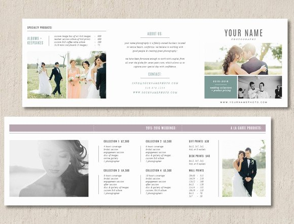 Photography Shot List Template New Marketing Trifold Card Brochure Templates On