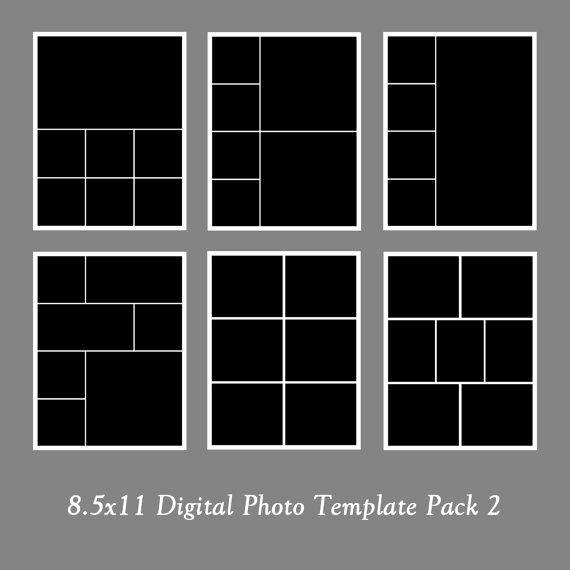 Photography Shot List Template Unique 8 5x11 Template Pack Collage Portfolio