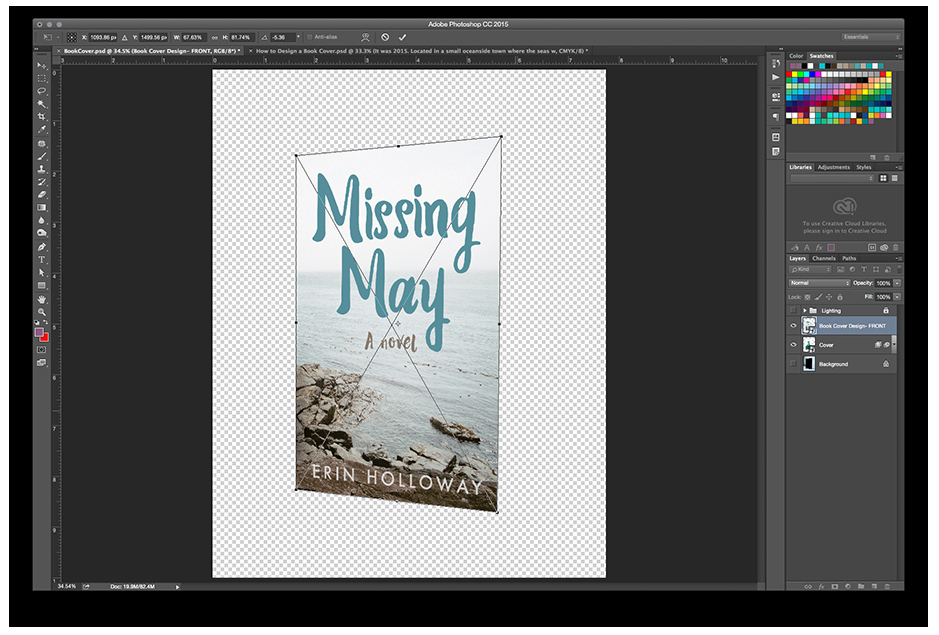 Photoshop Book Cover Template Best Of How to Make A Book Mockup — Finicky Designs