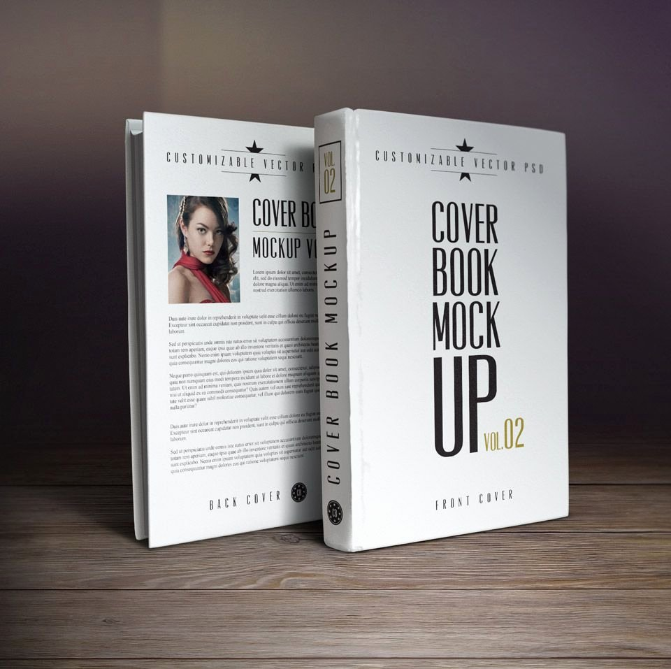 Photoshop Book Cover Template Lovely 10 Book Cover Psd Mockup Templates