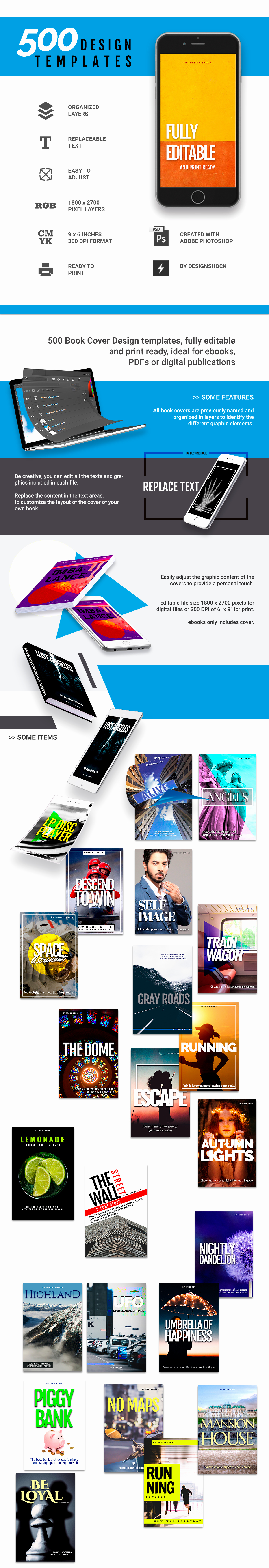 Photoshop Book Cover Template New 500 Shop Book Cover Templates