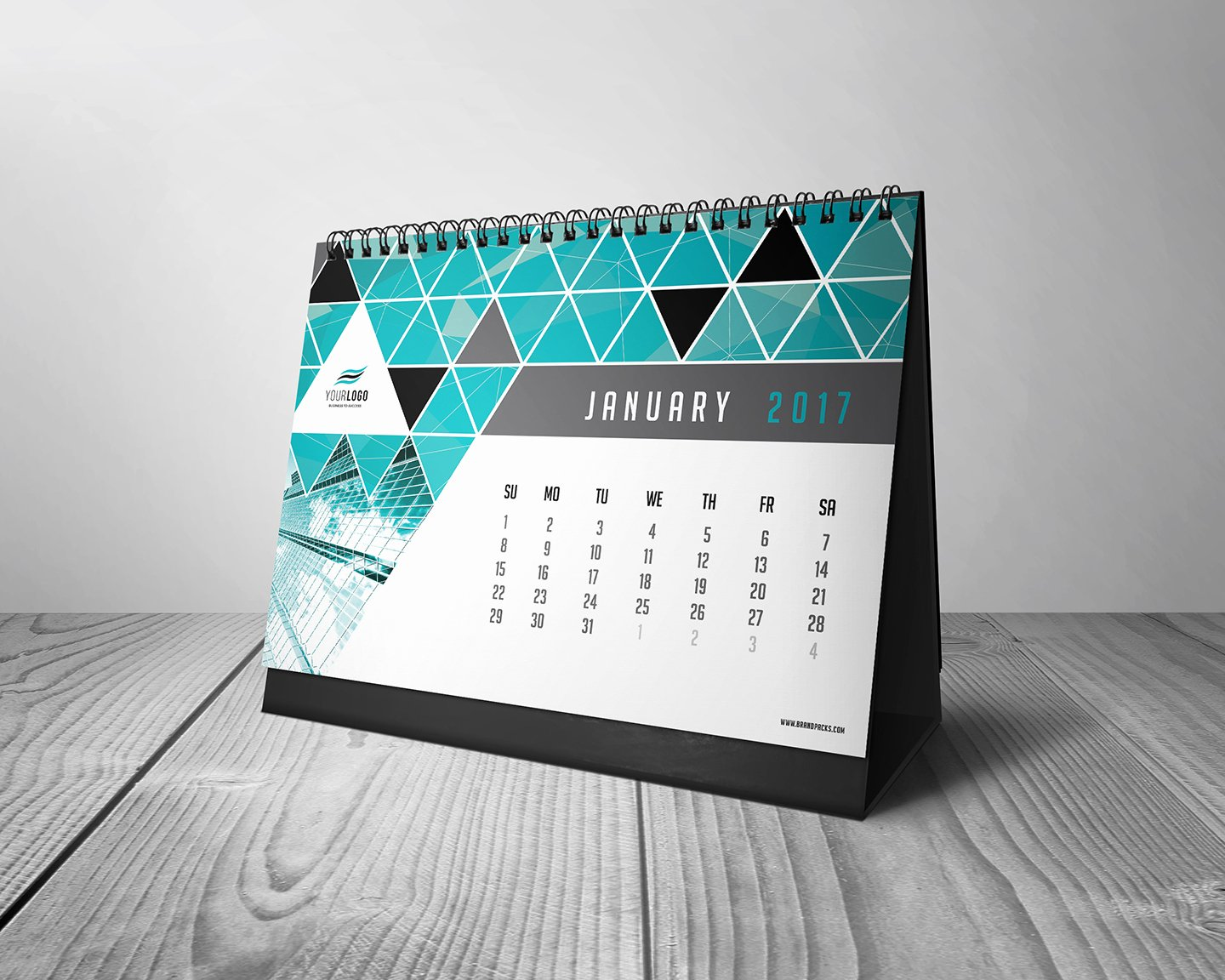 Photoshop Calendar Template 2017 Awesome Free Calendar Template for Shop & Illustrator