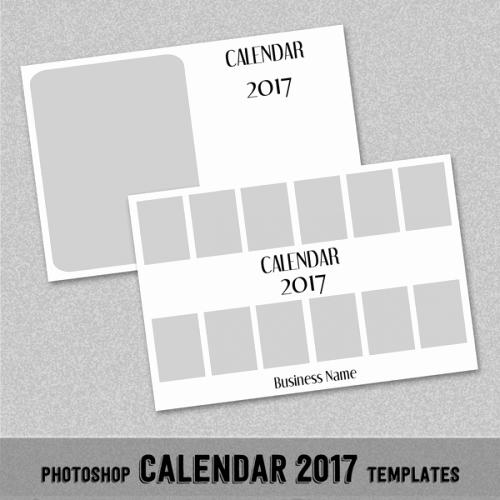 "Photoshop Calendar Template 2017 Beautiful 2017 Monthly Calendar Template 4x6"" Shop or"