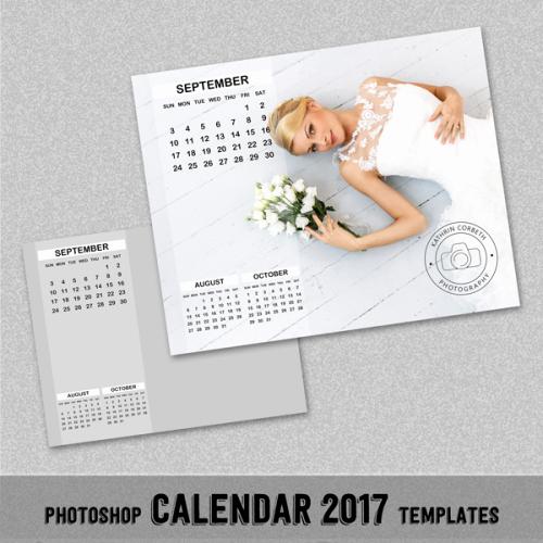 """Photoshop Calendar Template 2017 Best Of 2017 Monthly Calendar Shop Template 8x10"""" Wall"""