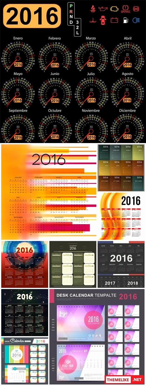 Photoshop Calendar Template 2017 Elegant Calendar 2016 2017 2018 All Design Template