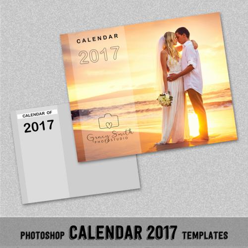"""Photoshop Calendar Template 2017 Lovely 2017 Monthly Calendar Shop Template 8x10"""" Wall"""