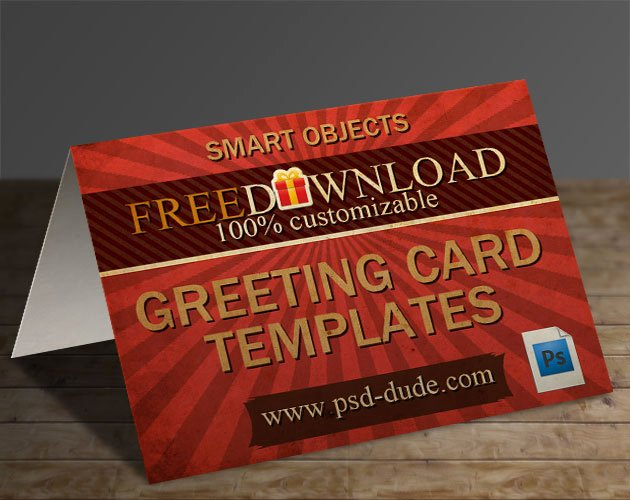 Photoshop Greeting Card Template Best Of 3 Greeting Card Templates with Shop Free Psd File