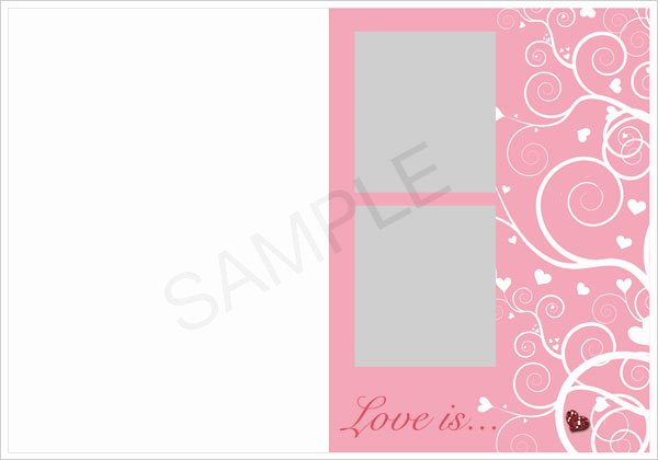 Photoshop Greeting Card Template Elegant Inkjet Greeting Card Templates for Shop