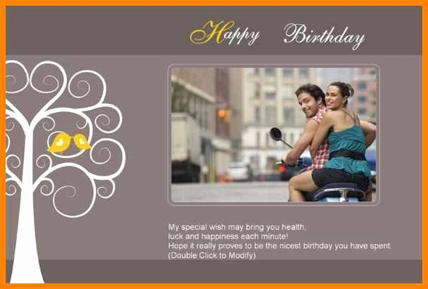 Photoshop Greeting Card Template Lovely 8 Birthday Card Template for Photoshop