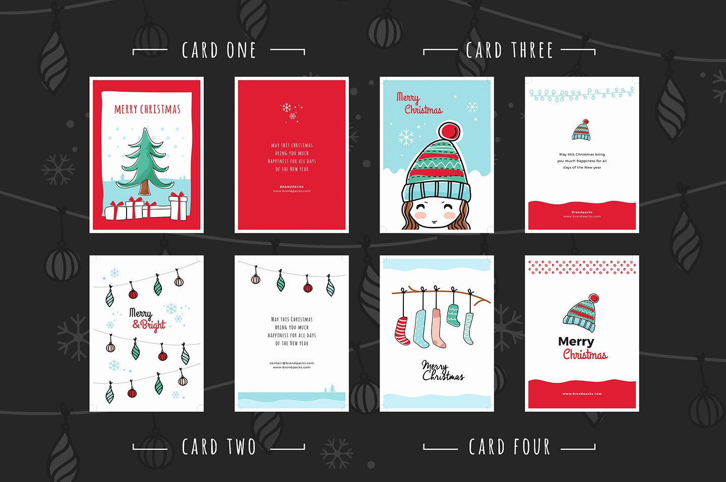 Photoshop Greeting Card Template New Free Christmas Card Templates for Shop & Illustrator