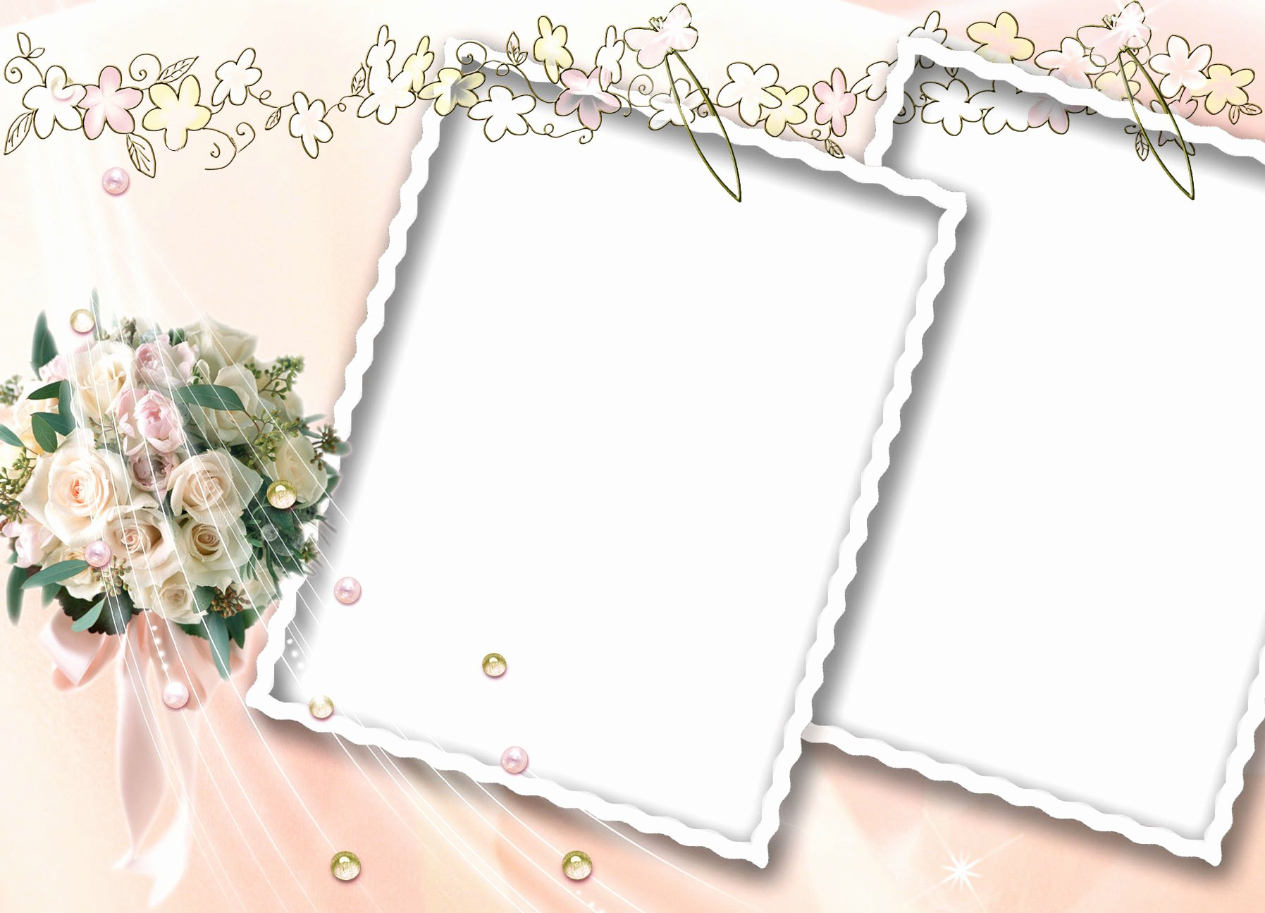 Photoshop Picture Frame Template Awesome 14 Wedding Frames Psd for Shop Wedding Frame